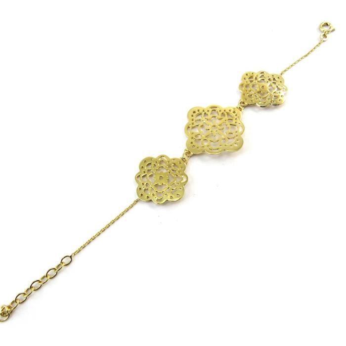 Les Trésors De Lily [N3773] - Bracelet plaqué or Carmen