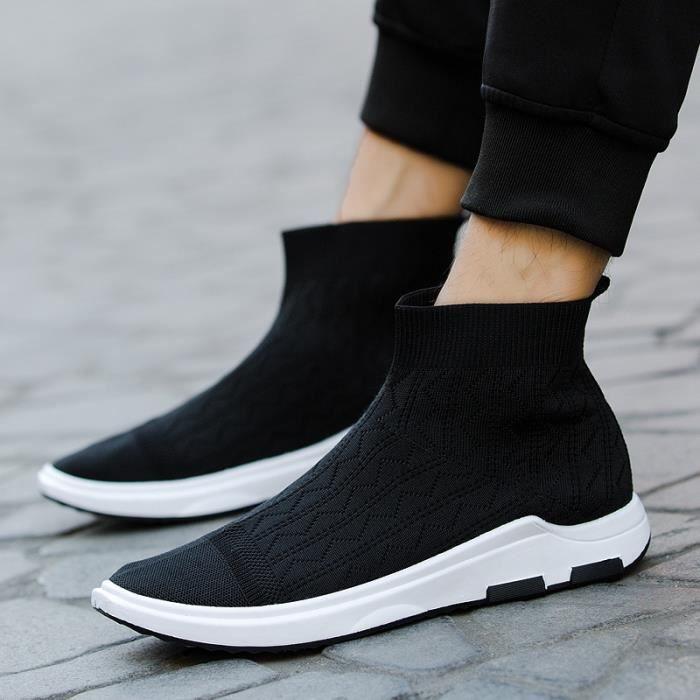 plates Knitting hommes De qualité Chaussures haute populaire Mocassins pour wq4ZvURA