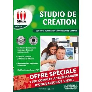 MULTIMÉDIA Studio De Création / Logiciel PC