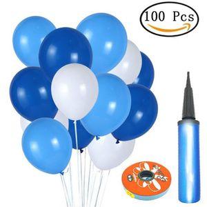 BALLON DÉCORATIF  Yangbaga Ballons Bleu, Ballons Anniversaire Bleu e