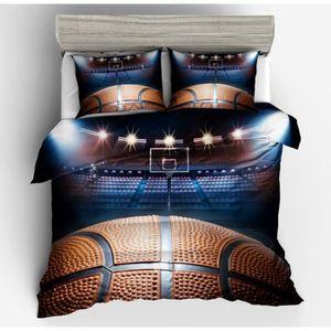 housse de couette basket ball achat vente pas cher. Black Bedroom Furniture Sets. Home Design Ideas