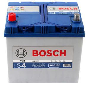 BATTERIE VÉHICULE Batterie BOSCH Bosch S4025 60Ah 540A - 36641109767