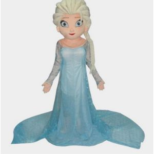 DÉGUISEMENT - PANOPLIE  Mascotte déguisement adulte Elsa Reine des neiges