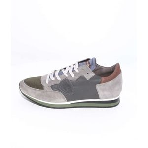 DERBY Philippe Model Baskets Homme Gris