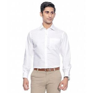 4c1e0c35e43d 100% coton satin Slim Fit Parti vêtements pour hommes Chemises formelles (2  couleurs) EBKOJ Taille-XS