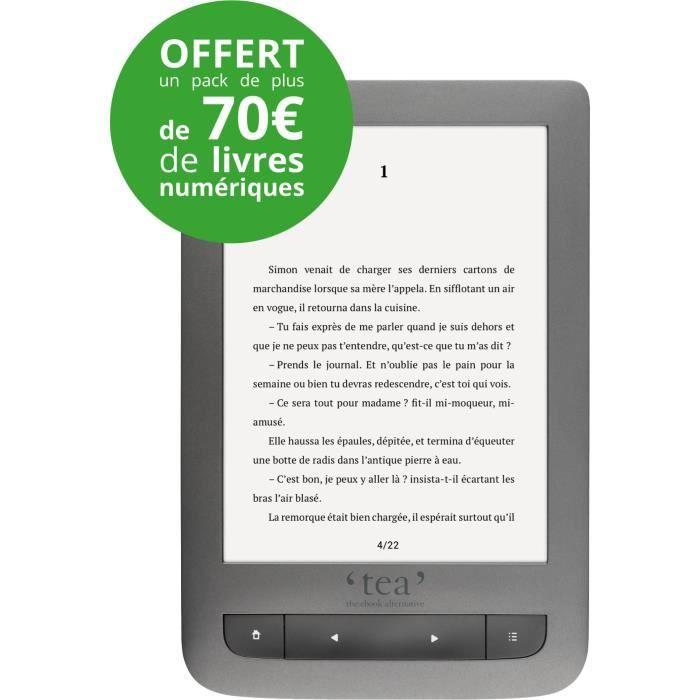 Liseuse de livres numériques TEA, Touch Lux 3