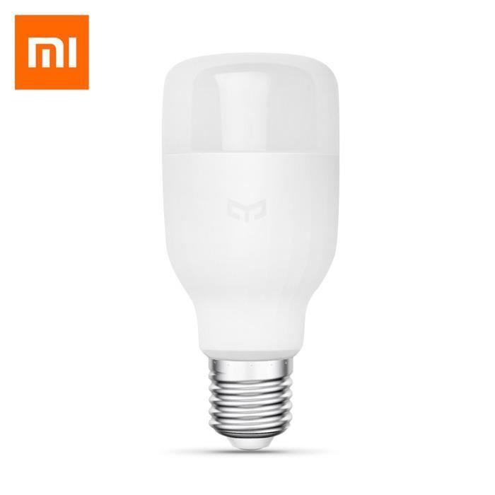 165118801 Blanc Led De Xiaomi Ampoule Preuve Wifi Originale Lampe Chevet Yeelight Smart Dimmable Thunder Contrôle E27 gby76fY