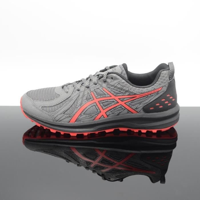 Asics 1011a034 Homme Frequent Gris Rouge Achat 021 Trail v6Y7ybfg