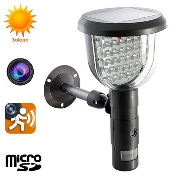 camera de surveillance solaire - achat / vente camera de