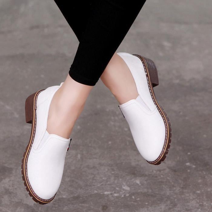 Be68979 Court Plat Femme Bottes Pour Mode Dames En Chaussures Cuir Casual Cheville wO1Fgxgq