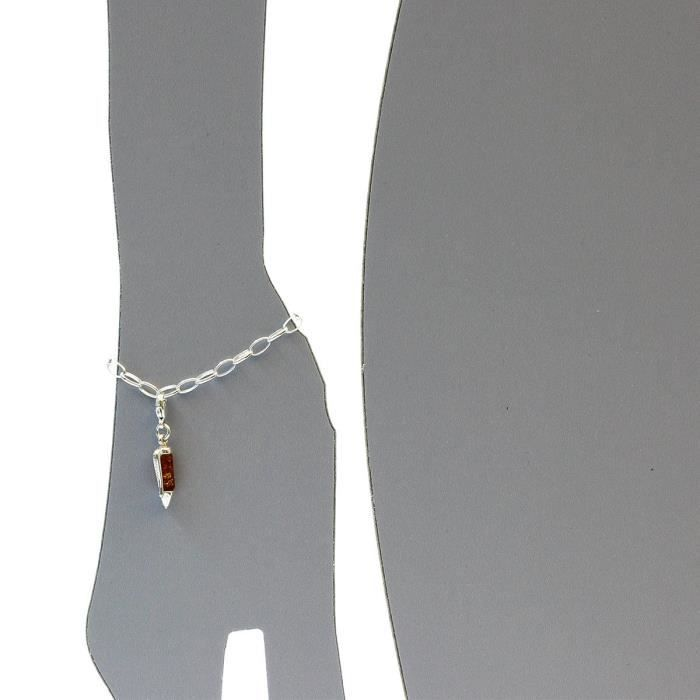 001020ch01501 - Charms Femme - Argent 925-1000 - Ambre SN1OM
