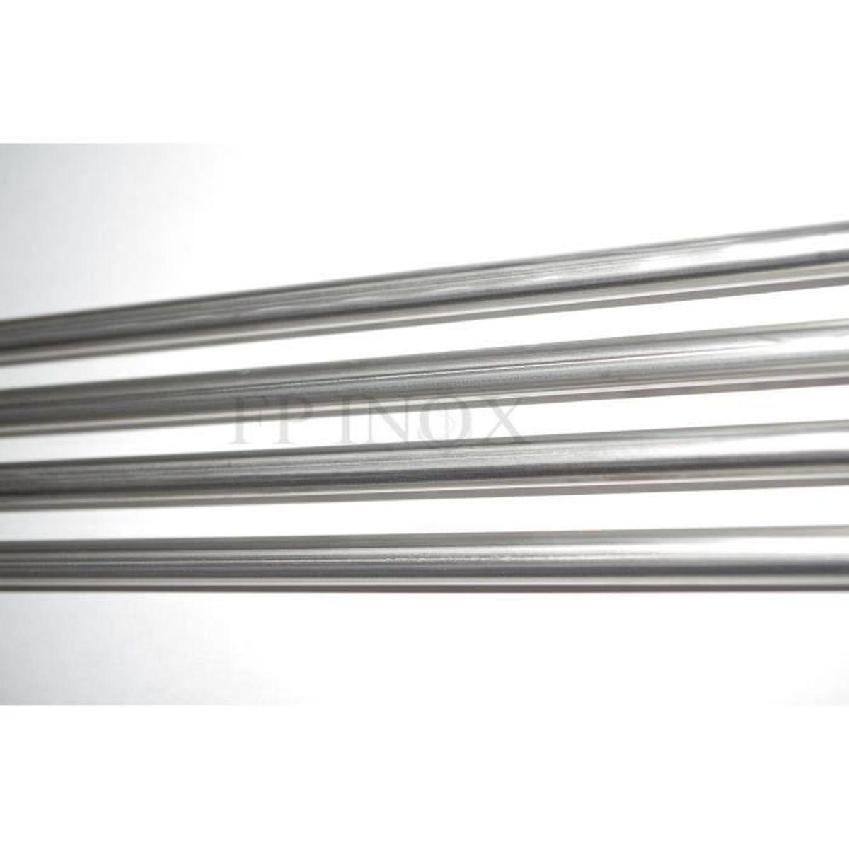 Tube inox 22mm x 1,5mm x 1 Mètre Polimiroir 316