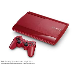 CONSOLE PS3 PS3 500 Go Rouge + Manette DualShock 3
