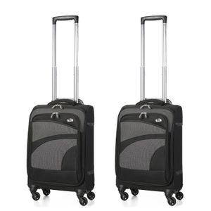 SET DE VALISES Aerolite Bagage Cabine Bagage à Main Valise Souple