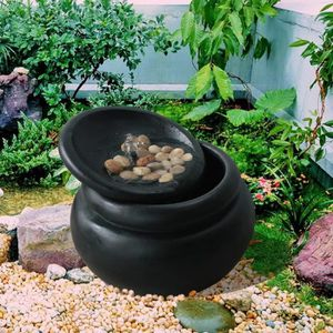 FONTAINE DE JARDIN Fontaine extérieur jardin pot décoration chute d'e
