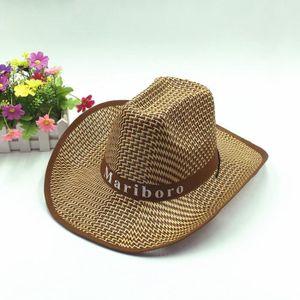 7f2a62a47290 CHAPEAU - BOB Chapeau de paille - Chapeau cowboy - Marron - Homm