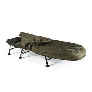 LIT DE CAMP Lit de péche avec sac de couchage  L 200cm x l 80c