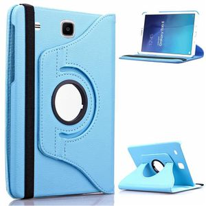 HOUSSE TABLETTE TACTILE Pour Samsung Galaxy Tab E 9.6 Multi Angle Cuir 360