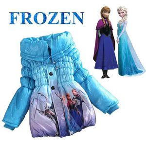 doudoune manteau doudoune reine des neiges filles 5 6 ans - Reine Neige