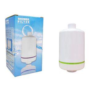 Lampe vidéoprojecteur Finerfilters douche filtre blanc, KDF et filtre à