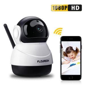 CAMÉRA IP Caméra IP Sans Fil FLOUREON 1080P HD H.264 Wifi 2.