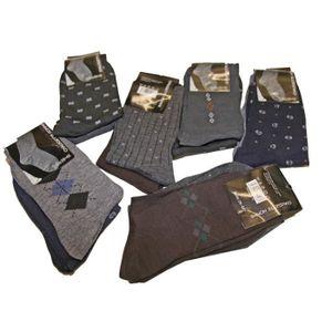 CHAUSSETTES Lot de 12 paires chaussettes Imprimé Brodé Homme G
