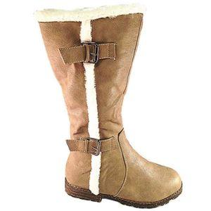 botte femme fourrure fourree bottine boots achat vente pas cher. Black Bedroom Furniture Sets. Home Design Ideas