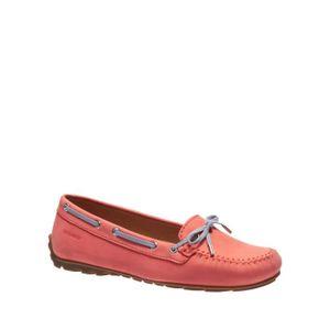 MOCASSIN Sebago Loafers Orange Femme B409267
