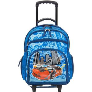 61fe399c75 CARTABLE Sac à dos à roulettes Scolaire pour Enfant-Sac à d ...