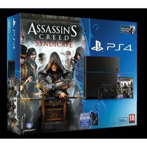 CONSOLE PS4 Console PlayStation 4 Jet Black + Assassin's Creed