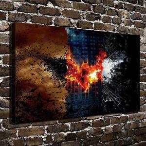 TABLEAU - TOILE Home Décoration Oils Paintings Joker Batman HD Imp