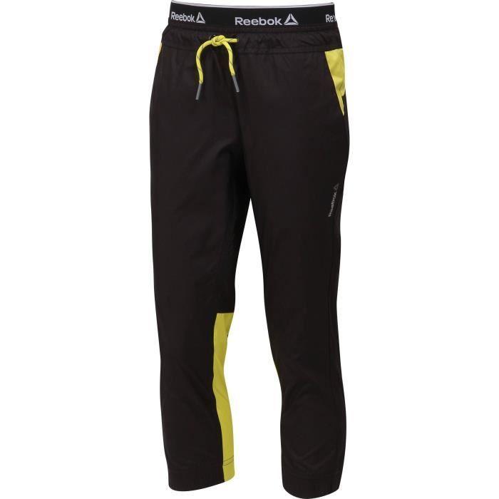 REEBOK Pantalon - Garçon - Noir
