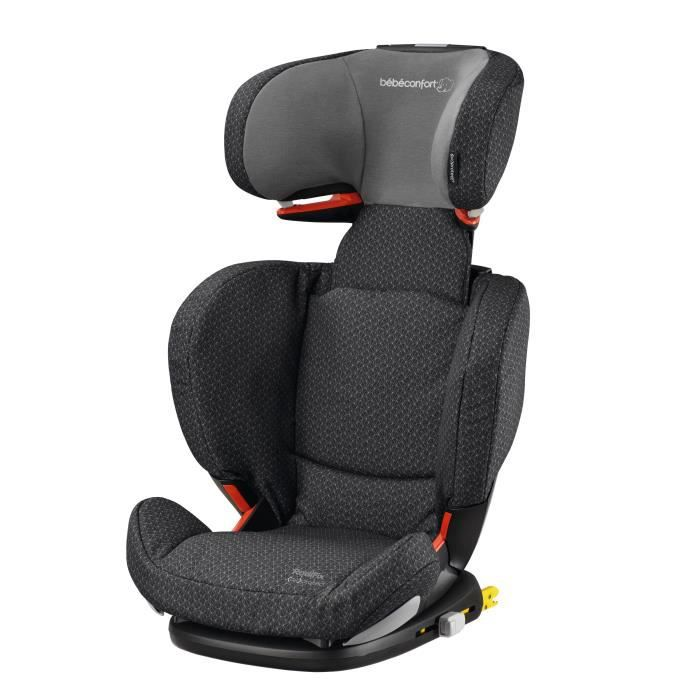 BEBE CONFORT Siège auto Rodifix AirProtect - Groupe 2/3 - Isofix - Black Crystal