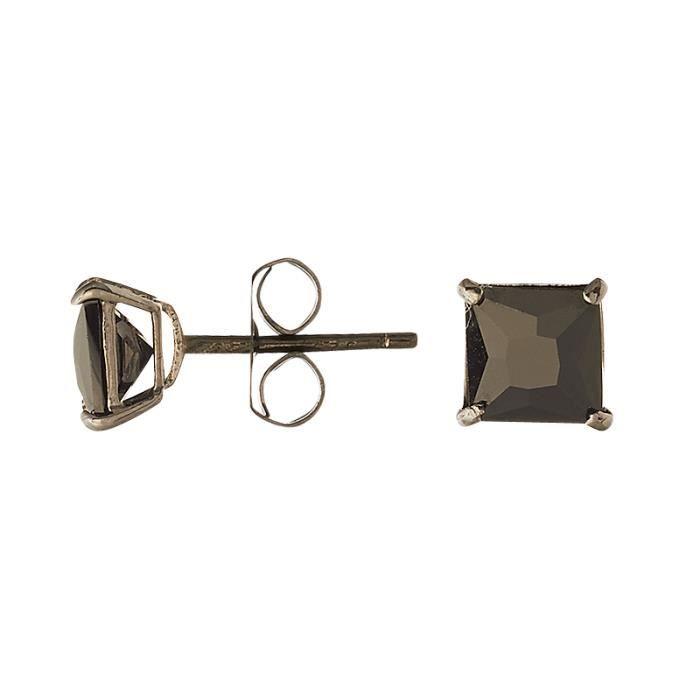 Boucles doreilles CLEOR Or 375/1000 Oxyde de Zirconium