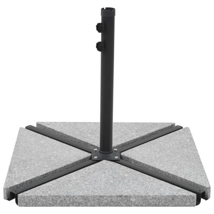 Homgeek Pieds de parasols en granit poids pour supports de ...