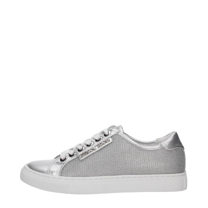 AJ Armani Jeans Sneakers Femme ARGENTO, 37 Argento - Achat   Vente ... acf3c37ce3b8