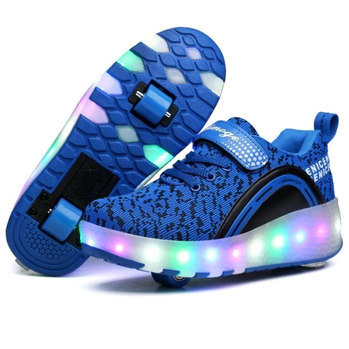nouvel enfant heelys chaussures roulettes avec roues chaussures pour enfants gar ons filles. Black Bedroom Furniture Sets. Home Design Ideas