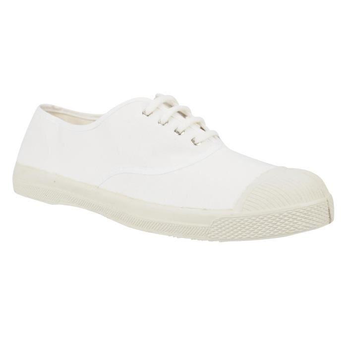 Bensimon Tennis à lacets blanc F15004C153 101 BLANC PvKNdCAm