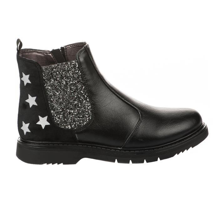 Boots fille - ASSO - Noir - 59851 - Millim jToqnqp