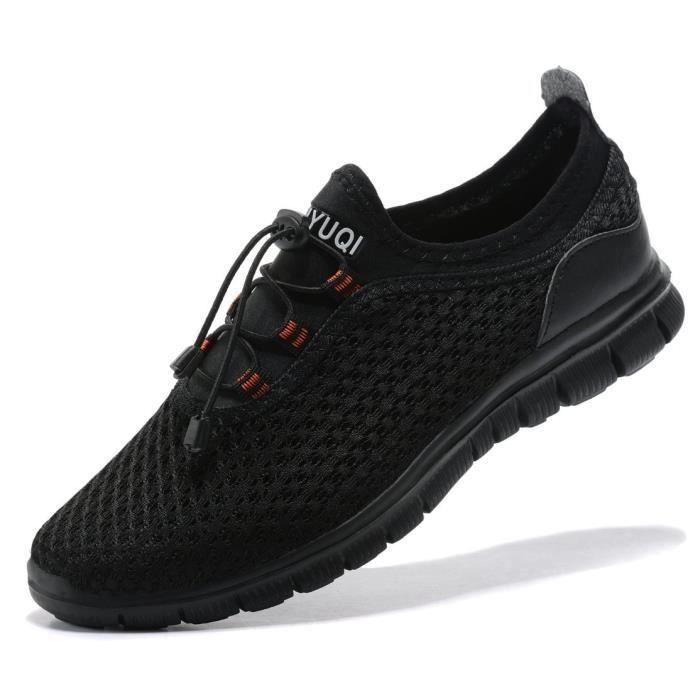 Randonnée pédestre Gymnase Sneakers Casual Chaussures de sport de course léger et confortable J2GNY Taille-39