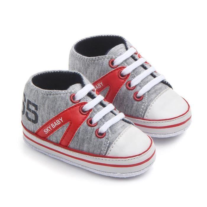 Sneaker Help ®Nouveau né fille chaussures infantile XYY71223511 garçon anti chaud dérapant High lettre Lavieni w7H4YqnY