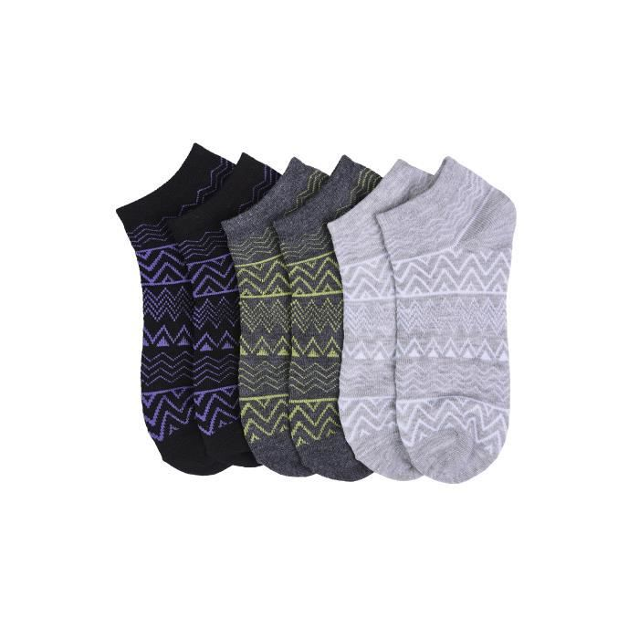12 Assorted pack 1a321b Ankle Socks Taille Women's Styles Cut Low m FPdn7xFqY
