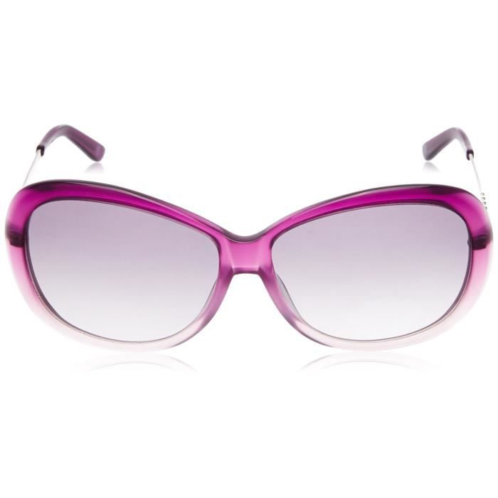 Oversized Sunglasses (dark Pink, Light Pink And Shiny Gun) (g182clflac) FBNRP