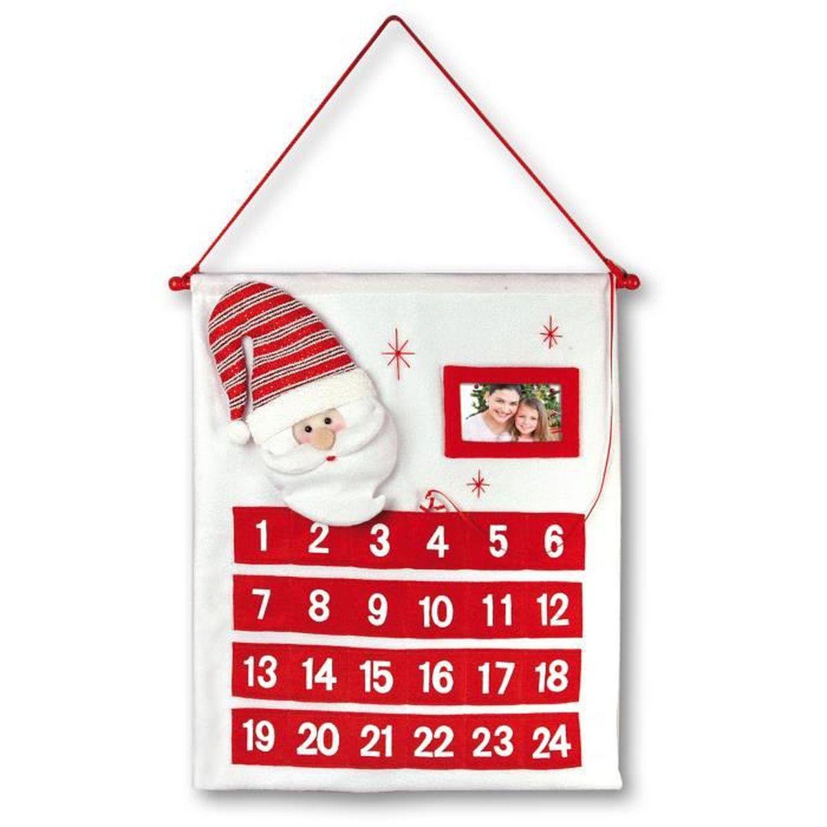 calendrier tissu noel achat vente jeux et jouets pas chers. Black Bedroom Furniture Sets. Home Design Ideas