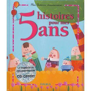 Livre 3-6 ANS 5 histoires pour mes 5 ans