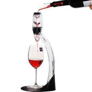 CARAFE A VIN Deluxe aérateur de vin Decanter avec tour