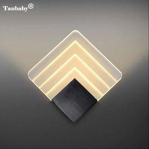 APPLIQUE  20cm - 5W LED Acrylique Morden Lumières Applique M