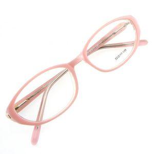 5b9b106e93caa4 LUNETTES DE VUE Monture de lunettes de vue cerclée LC4 Rose blanc