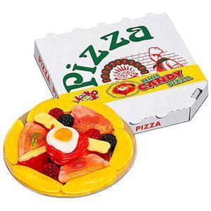 CONFISERIE DE SUCRE Mini Candy Pizza (lot de 10 boîtes de 18 pièces)