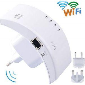 MODEM - ROUTEUR Répéteur Wi-Fi, 300 Mbps Extendeur Wifi Sans Fil,
